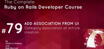 #71- Add Association from UI in ruby on rails