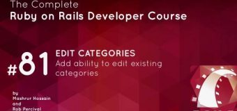 #73- Edit Categories in ruby on rails