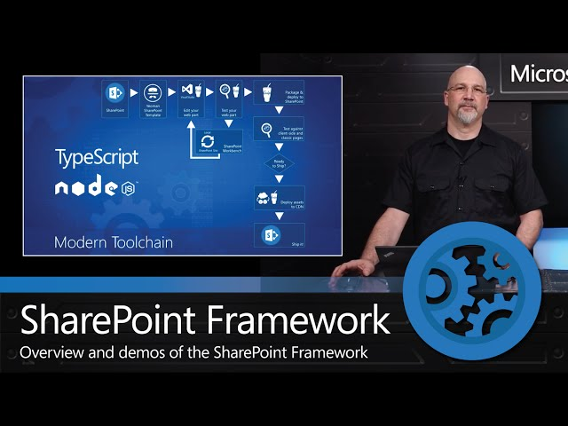 Open and Connected Platform: The SharePoint Framework