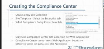SharePoint 2016 Tutorial: Data Loss Prevention: Protect Your Sensitive Information