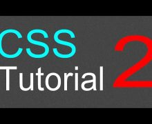 CSS Tutorial for Beginners – 02 – Changing font type, color, and size