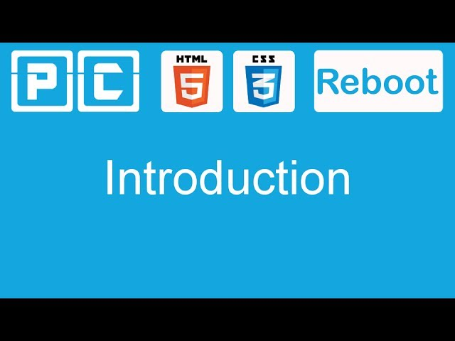 HTML5 and CSS3 beginners tutorial 1 – Introduction