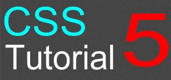 CSS Tutorial for Beginners – 05 – Inheritance and overriding