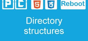 HTML5 and CSS3 beginners tutorial 8 – directory structures