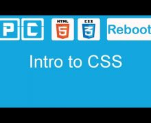 HTML5 and CSS3 beginners tutorial 11 – Intro to CSS