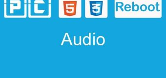 HTML5 and CSS3 beginners tutorial 9 – New audio tag
