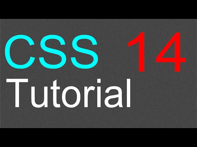 CSS Tutorial for Beginners – 14 – Using inline style