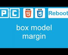 HTML5 and CSS3 beginners tutorial 17 – box model, margin