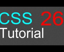 CSS Tutorial for Beginners – 26 – The DIV element