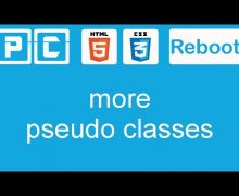 HTML5 and CSS3 beginners tutorial 25 – more pseudo classes