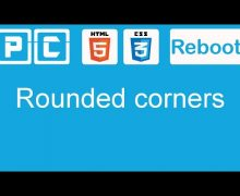 HTML5 and CSS3 beginners tutorial 29 – rounded corners