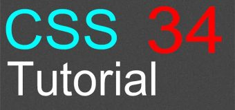 CSS Tutorial for Beginners – 34 – Absolute position for an element