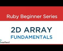 #36 Ruby Tutorial: 2D Array Concept, Fundamentals & Codes
