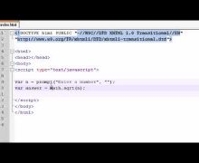 Beginner JavaScript Tutorial – 36 – Math Objects