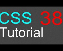 CSS Tutorial for Beginners – 38 – Custom cursor