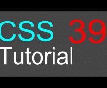 CSS Tutorial for Beginners – 39 – Text and images