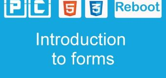 HTML5 and CSS3 beginners tutorial 44 – introduction to forms